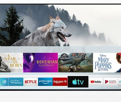 Telewizory Samsung z AirPlay2 i Apple TV