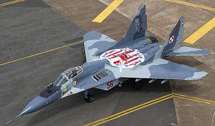 Polski MiG-29 z Malborka rozbił się pod Pasłękiem. Zginął pilot