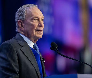 Michael Bloomberg - były burmistrz Nowego Jorku