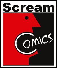 Logo wydawnictwa Scream Comics