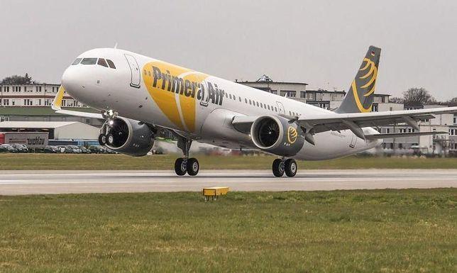 Primera Air ogłosiło upadłość 1 października