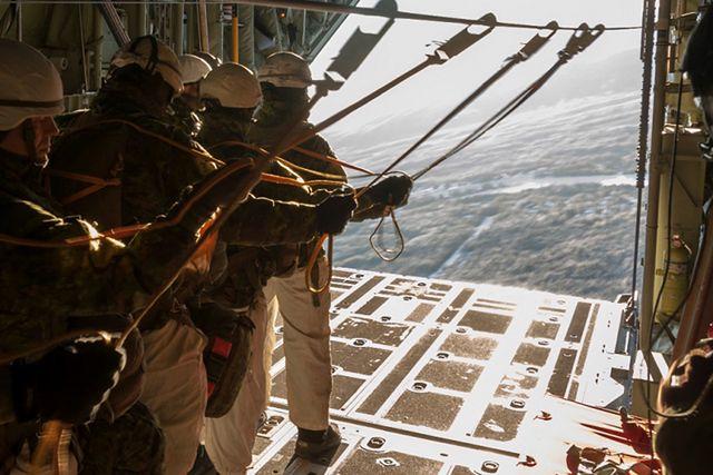 6 Brygada Powietrznodesantowa ćwiczyła w Kanadzie