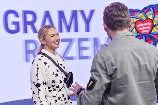Barbara Kurdej-Szatan na 29 finale WOŚP