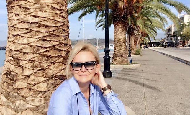 Pani Renata jest rezydentką turystyczną i pilotem wycieczek w Grecji