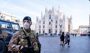 Mediolan. Włochy walczą z koronawirusem