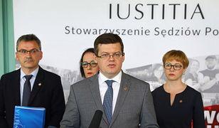 Krystian Markiewicz, prezes Stowarzyszenia Sędziów Polskich Iustitia