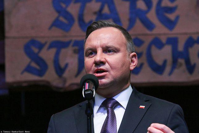 Andrzej Duda w styczniu kilka razy zabierał głos ws. sędziów i reformy sądownictwa