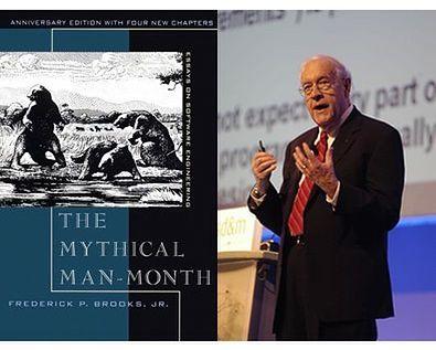 Książka The Mythical Man-Month i jej autor Frederick P. Brooks mieli stać się zdaniem Jeana-Louisa Gassee, natchnieniem dla pracowników Apple.