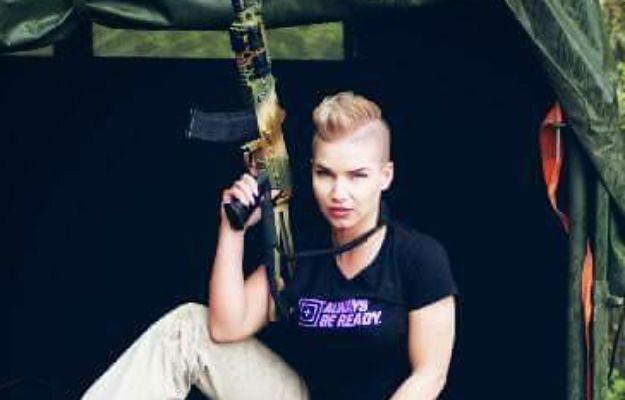 Sara Ciężka jest ratownikiem w wojsku