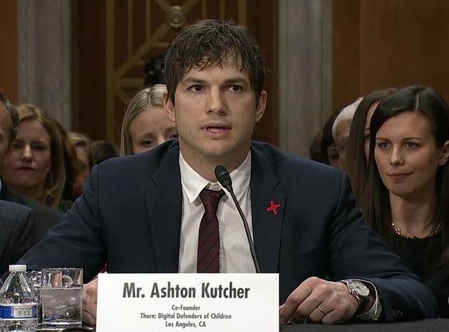 Ashton Kutcher w płomiennym przemówieniu