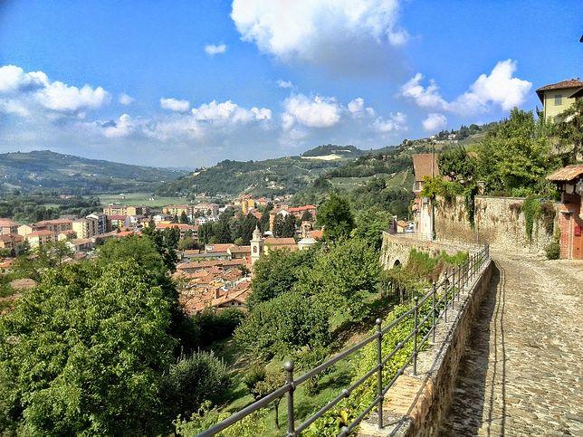 Widok na region Piemont
