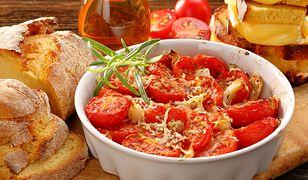 Zapiekane pomidory z parmezanem
