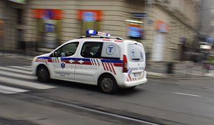 Rannych przewieziono do szpitala
