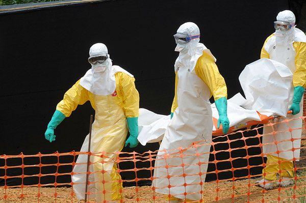Grabarze w Afryce porzucili ciała zmarłych na ebolę
