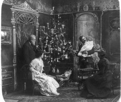 Jak żarówki Edisona rozświetliły świąteczne choinki