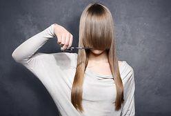 Modne fryzury asymetryczne