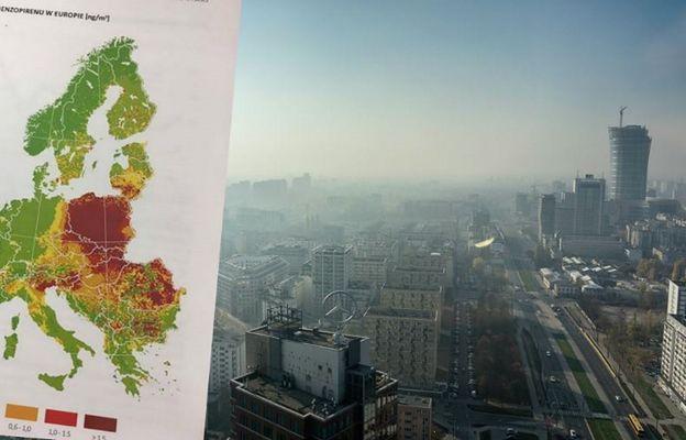 GIOŚ: smog zniknie jeszcze dziś
