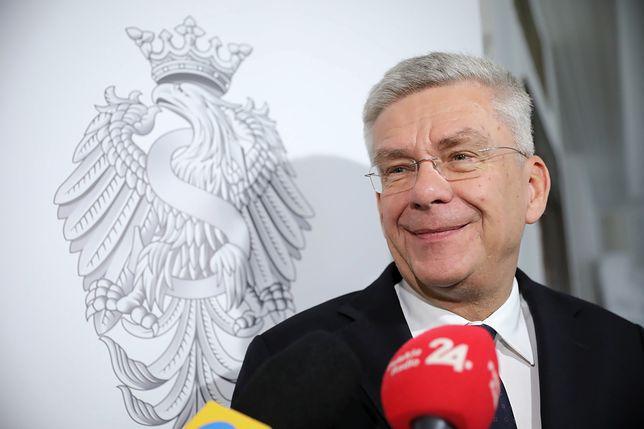 """Karczewski szybko opuści willę. """"Nie będę wyrywał futryn"""""""
