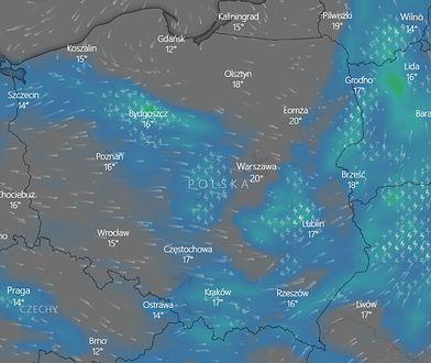 Gdzie jest burza? IMGW ostrzega. Potężny pas burzowy nad Polską. Niesie wiatr i ulewy