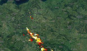 Burze nad Polską. Alerty IMGW do 2 w nocy