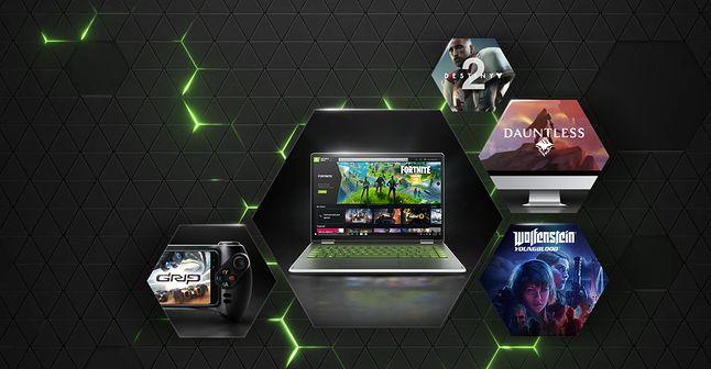 Usługa Nvidia GeForce Now dostępna jest w wersji darmowej i w formie płatnego abonamentu (25 zł / m-c), fot. Nvidia