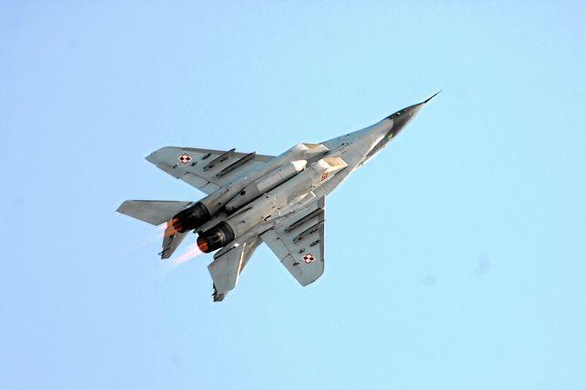 Wojsko ma około 30 maszyn MiG-29, które stacjonują w Mińsku Mazowieckim i Malborku