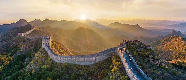 Wielki Mur Chiński - jeden z najważniejszych symboli Chin