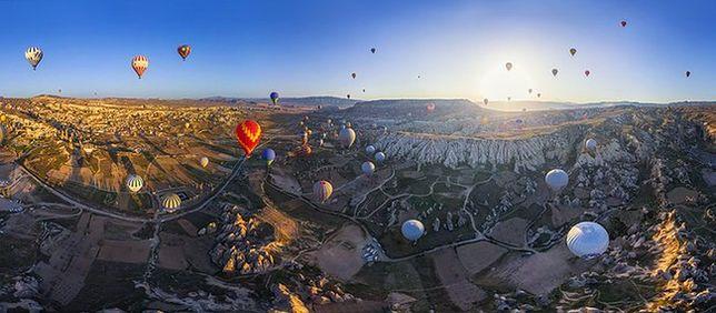 Jedyne takie miejsce na ziemi - Kapadocja, Turcja
