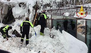 Wydobyto kolejne ciała spod gruzów hotelu we włoskiej Abruzji. Liczba ofiar wzrosła do 9