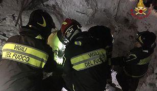 Włochy: Do 15 wzrosła liczba śmiertelnych ofiar zejścia lawiny na hotel