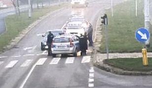 Kierowca trafił do szpitala na badania