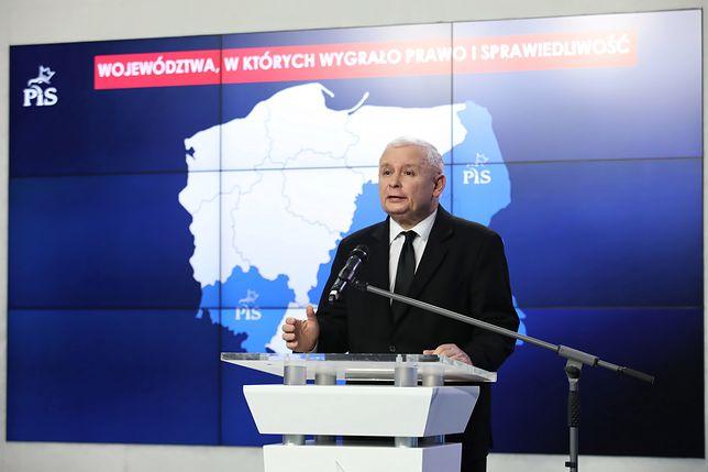 Jarosław Kaczyński uważa, że PiS odniósł zwycięstwo podczas wyborów