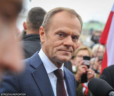 """Donald Tusk złożył życzenia z okazji Święta Niepodległości. """"Nie wstydźmy się tych słów"""""""