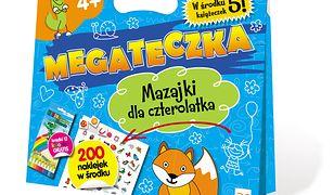 Mega Teczka - Mazajki Czterolatka