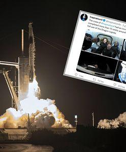 SpaceX wysłało kolejnego miliardera w kosmos. Po raz pierwszy na orbitę