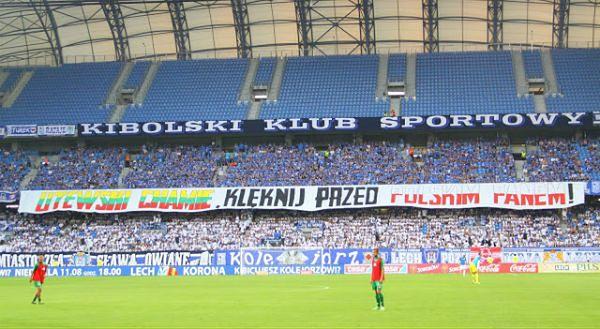 Kibice Lecha Poznań skazani za antylitewski transparent