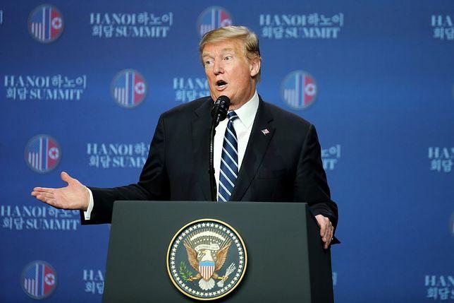Donald Trump nie zawarł porozumienia z Kimem w Hanoi