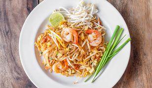 Tajskie pad thai