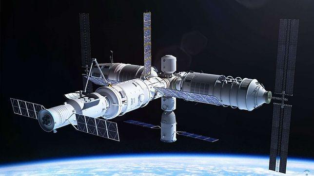 Stacja kosmiczna o nazwie Tiangong trafi na orbitę prawdopodobnie w 2022 r