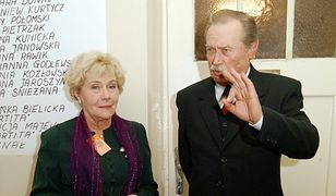 Teresa Lipowska i Emil Karewicz w 2003 r.