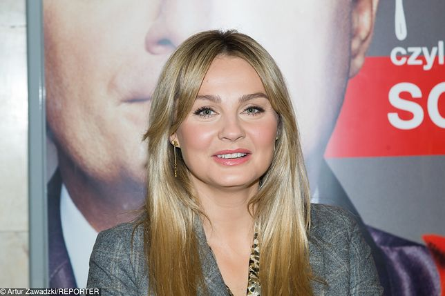 Małgorzata Socha na ślubnym kobiercu? Aktorka pochwaliła się swoją kreacją