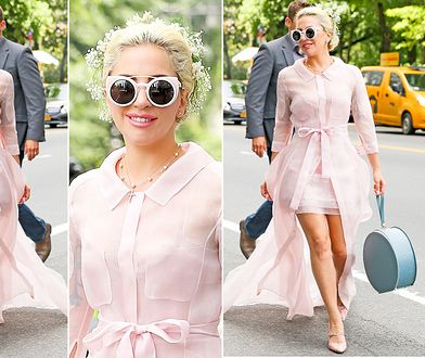 LOOK OF THE DAY: Lady Gaga jak Carrie Bradshaw