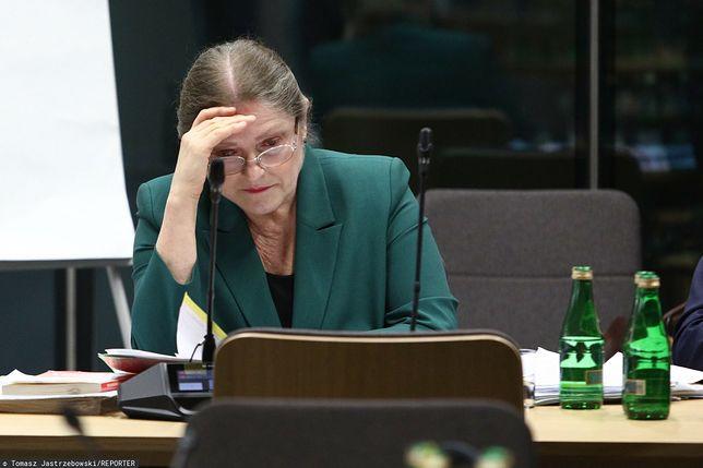 Krystyna Pawłowicz wywołała skandal na Twitterze
