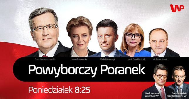 Poranek wyborczy WP