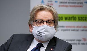 Jarosław Pinkas składa dymisję. Wiceszef MZ: podjął trudną decyzję