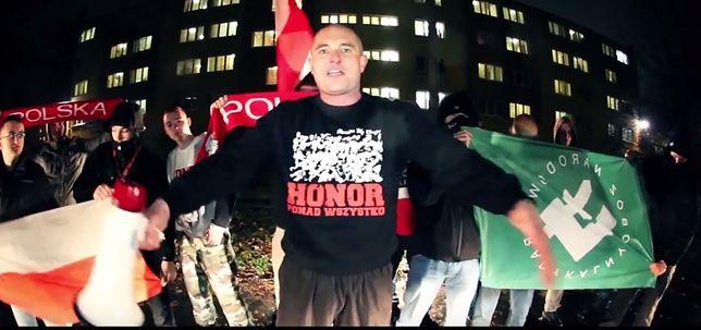 """Zbigniew """"Basti"""" Woźniak określa się mianem """"rapera patriotycznego"""""""