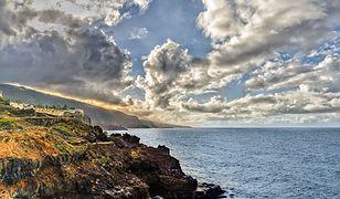 Widok na wybrzeże Puerto de la Cruz na północy Teneryfy