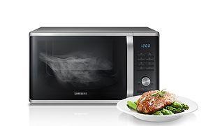 Mikrofalówka Samsung z możliwością gotowania na parze