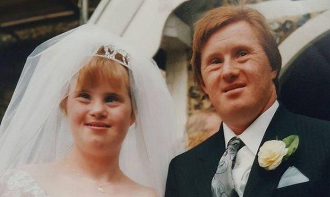 Maryanne i Tommy w dniu swojego ślubu.