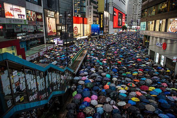 Dokładnie 1,7 mln mieszkańców protestowało m.in. przeciwko ustawie ekstradycyjnej